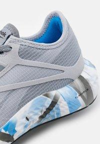 Reebok - FLASHFILM 3.0 - Neutral running shoes - true grey/white/horizon blue - 5