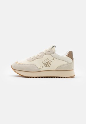BEVINDA RUNNING - Sneakers laag - cream/gold