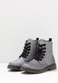 TOM TAILOR - Veterboots - silver - 3