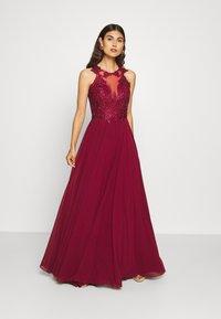 Luxuar Fashion - Společenské šaty - bordeaux - 1