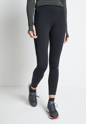 HOW WE DO 7/8 TIGHTS - Leggings - black