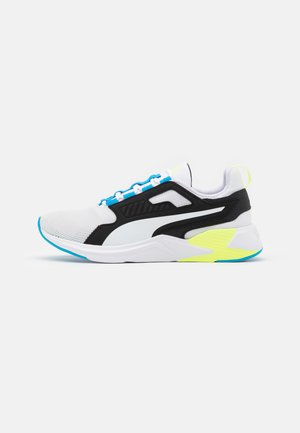 DISPERSE XT MEN'S - Sports shoes - white/nrgy blue/fizzy yellow