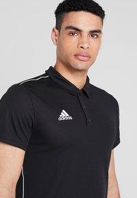 adidas Performance - CORE18 - Sports shirt - black/white - 3