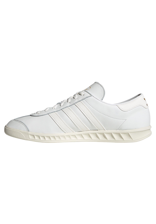 adidas Originals HAMBURG - Baskets basses - core white/core white ...