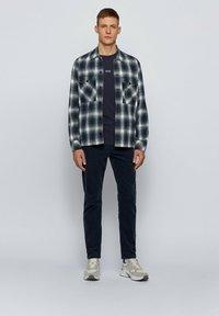 BOSS - TCHARK - Long sleeved top - dark blue - 1