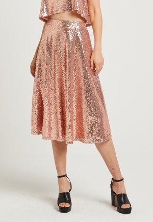 ZALANDO X NA-KD - Áčková sukně - pink rose