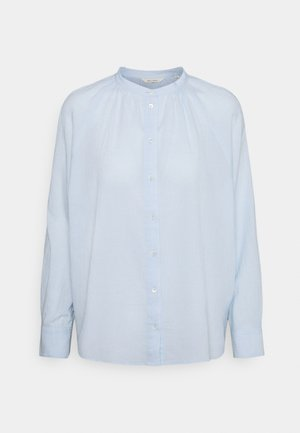 BLOUSE LONG SLEEVE - Button-down blouse - lighte blue