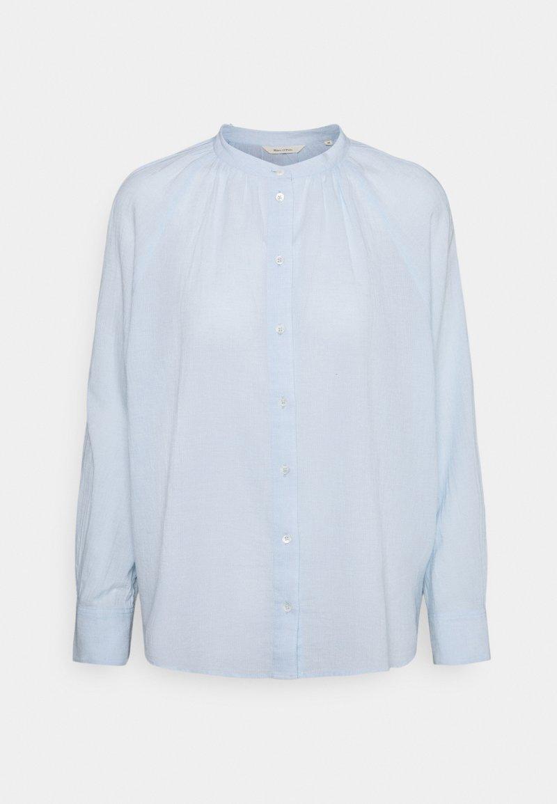 Marc O'Polo - BLOUSE LONG SLEEVE - Button-down blouse - lighte blue