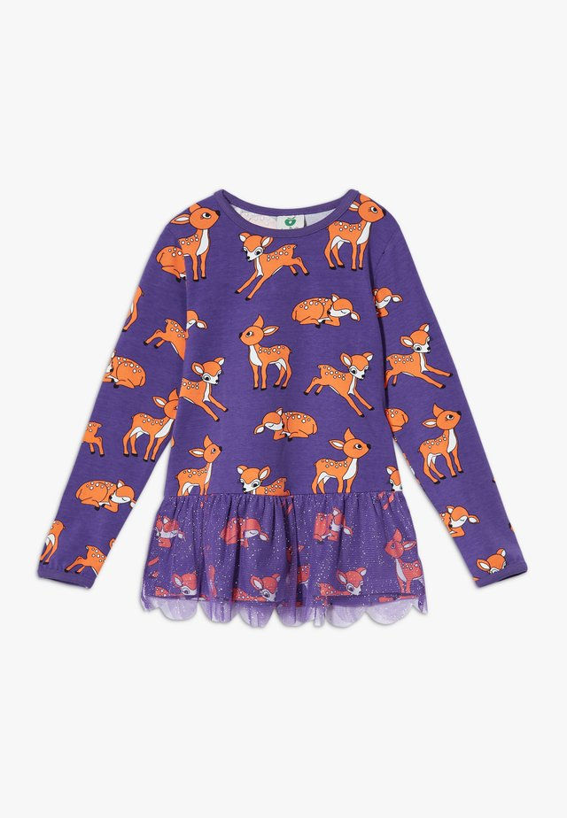 SKIRT DEER - Langarmshirt - imperial purple