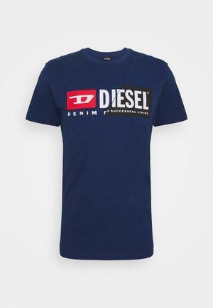 DIEGO CUTY - T-shirt med print - blue