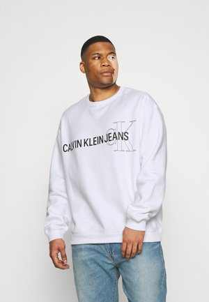 LOGO CREW NECK - Sweater - white