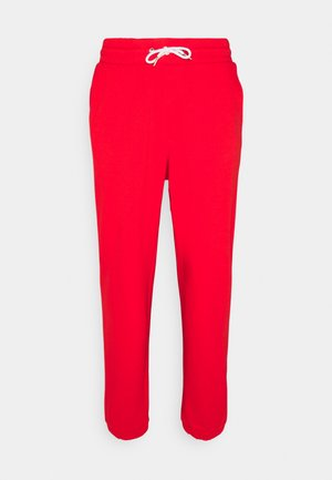 UNISEX - Tracksuit bottoms - red