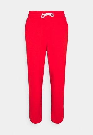 UNISEX - Spodnie treningowe - red