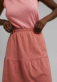 Esprit - A-line skirt - blush - 5