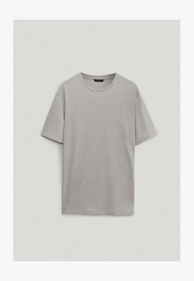 T-shirt - bas - light grey