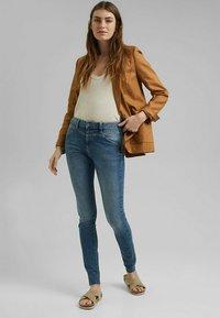 Esprit - Jeans Skinny Fit - blue medium washed - 1