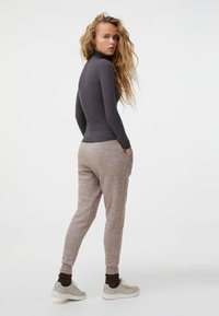 OYSHO - Long sleeved top - dark grey - 2