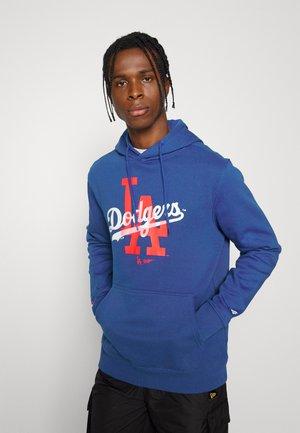 MLB LA DODGERS OVERLAY GRAPHIC HOODIE - Hoodie - royal