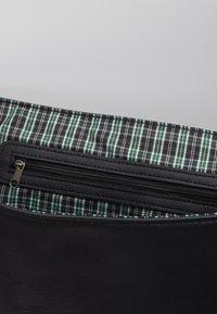 Burton Menswear London - MESSENGER - Taška spříčným popruhem - black - 2