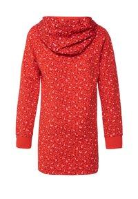 WE Fashion - WE FASHION MÄDCHENKLEID MIT CAMOUFLAGE-MUSTER - Robe d'été - red - 1