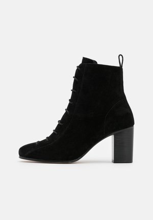 VICKIE - Lace-up ankle boots - noir