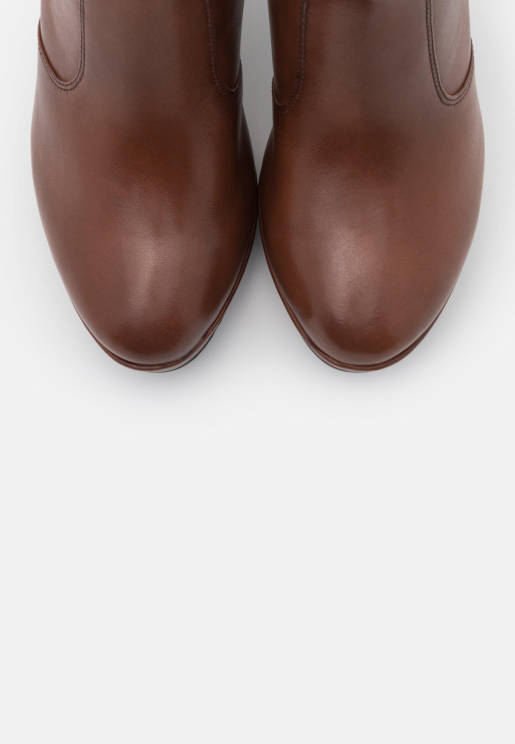 Tamaris Heart & Sole Boots - High Heel Stiefelette Brandy/cognac