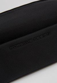 Porsche Design - ROADSTER WASHBAG - Wash bag - black - 2