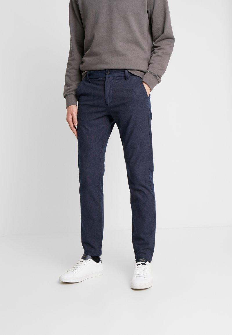 Selected Homme - SLHSLIM ARVAL PANTS - Spodnie materiałowe - navy blazer