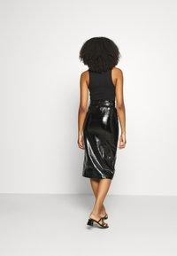 Fashion Union - TOFFIN - Pencil skirt - Black - 2