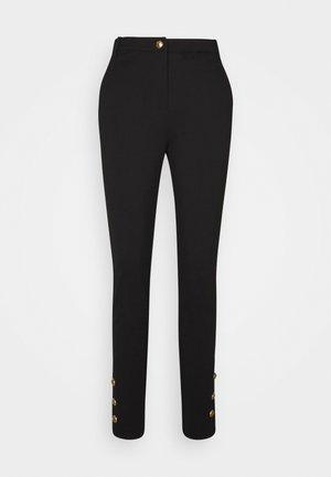 LAMBERTO TROUSERS - Spodnie materiałowe - nero