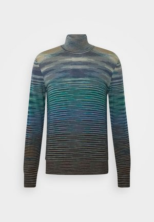 LONG SLEEVE CREW NECK - Neule - multicoloured
