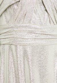 Lauren Ralph Lauren - QUINCY SLEEVELESS EVENING DRESS - Abito da sera - silver - 6