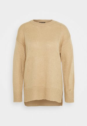 STEP JUMPER - Jumper - camel