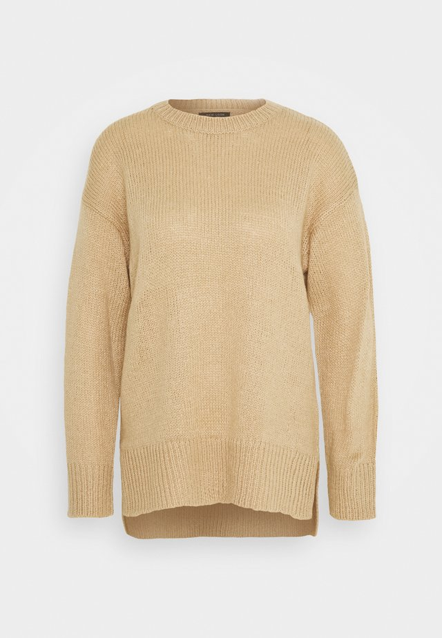 STEP JUMPER - Neule - camel