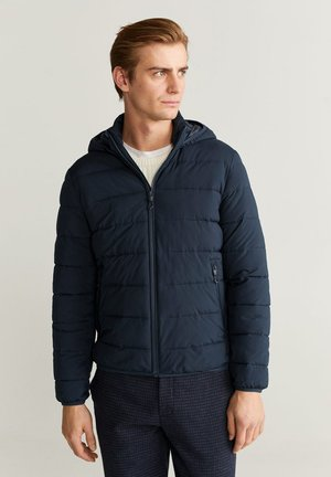 ULTRALEICHTER STEPPANORAK - Winter jacket - dunkles marineblau