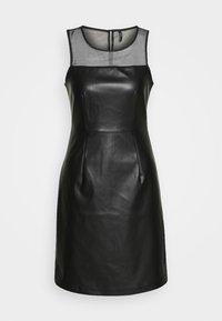 ONLY - ONLVIBE MIX DRESS - Kjole - black - 3