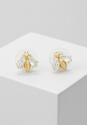 ETERNAL FLOWER BEE  - Pendientes - gold-coloured