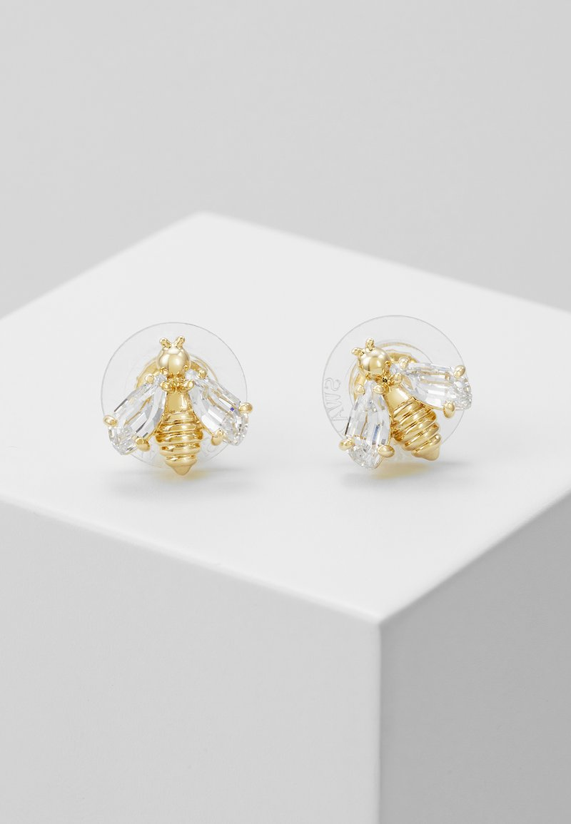 Swarovski - ETERNAL FLOWER BEE  - Earrings - gold-coloured