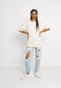 American Eagle - MOM JEANS - Jeans straight leg - high tide - 1