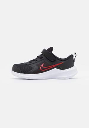 DOWNSHIFTER 11  - Neutral running shoes - black/universe red/dark smoke grey/white