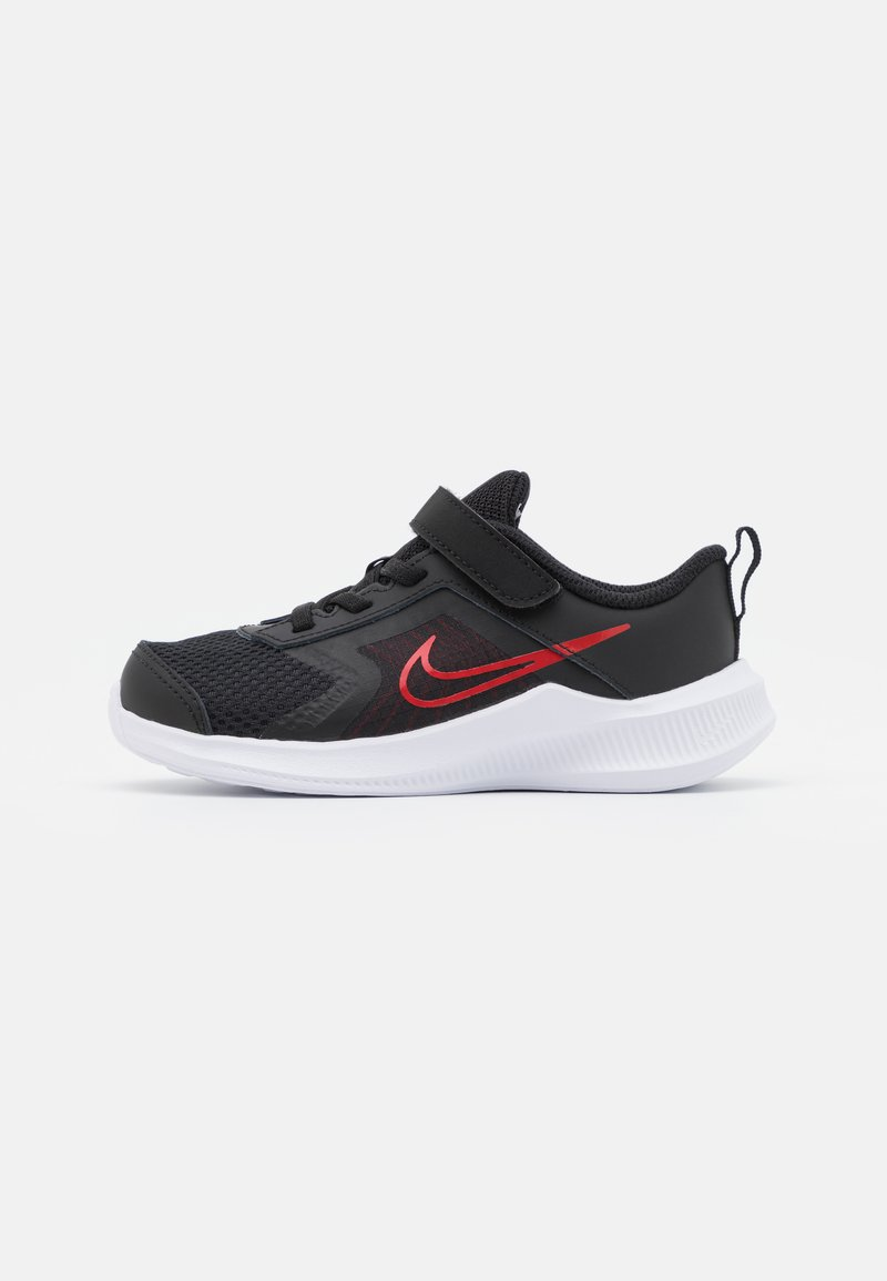 Nike Performance - DOWNSHIFTER 11  - Neutral running shoes - black/universe red/dark smoke grey/white