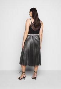 Persona by Marina Rinaldi - Pleated skirt - black - 2