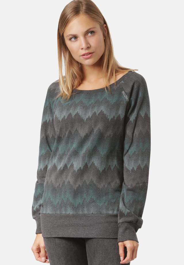 IRMA - Sweater - black / zigzag