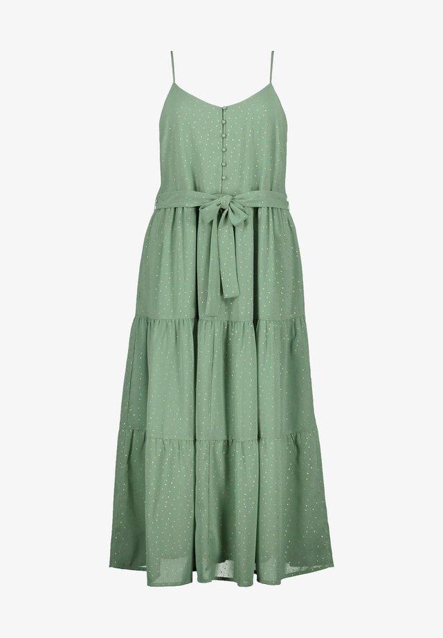 Korte jurk - eukalyptus