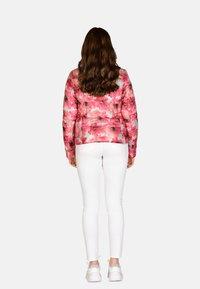 Cero & Etage - Winter jacket - pink flower - 2