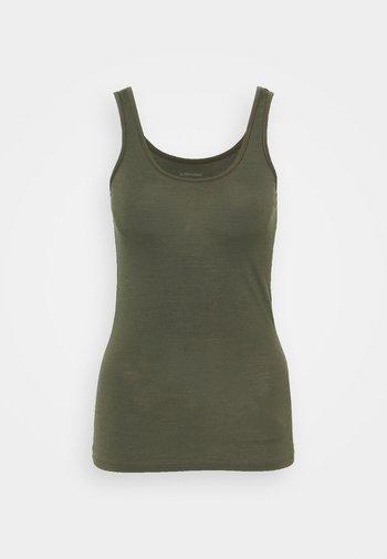 W SIREN TANK - Undershirt - green