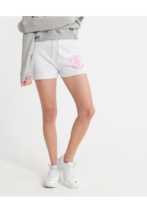 SUPERDRY TRACK & FIELD SHORTS - Shorts - ice marl