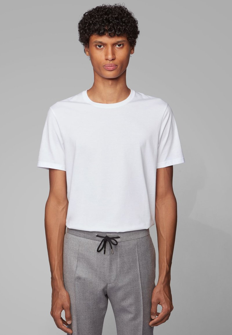 BOSS - TIBURT  - T-shirt basic - white