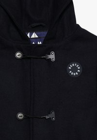 Scotch & Soda - CLASSIC HOODED SINGLE BREASTED CABAN WITH TECHNICAL CLOSURE - Short coat - night - 4