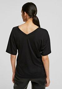 KARL LAGERFELD - T-Shirt basic - black - 2